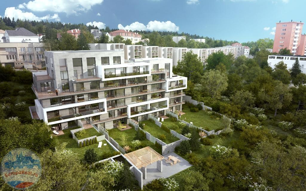 Продается квартира 2+кк 66,70 м2 в новом вилла-доме.
