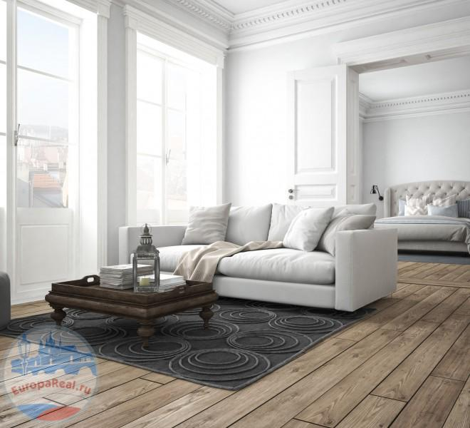 44128117 - sofa of tissue in a modern living room. 3d rendering