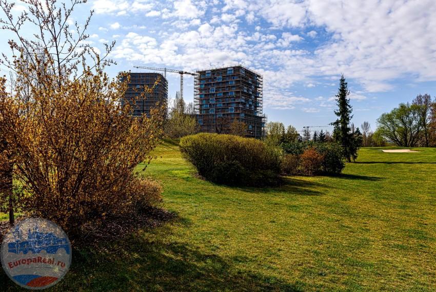 Rezidence Zahálka - okolí stavby